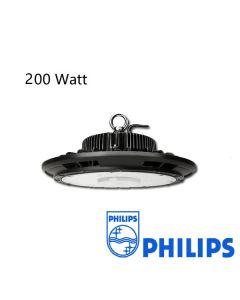 LED Hallenstrahler UFO 200W Dimmbar mit Philips Treiber 125L/W IP65