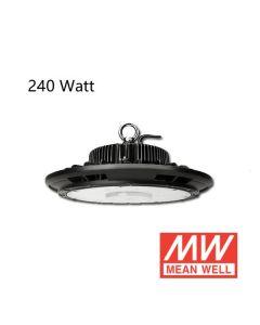 LED Hallenstrahler UFO 240W mit Meanwell-Treiber 125L/W IP65