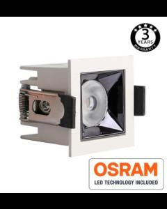 LED Downlighter OSRAM Chip 24º UGR17 140lm / W