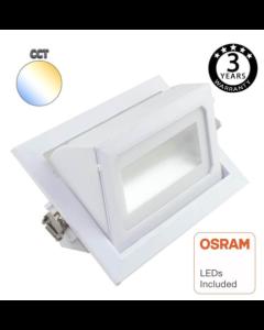 BI Farb- LED Downlighter 40W OSRAM Chip 120º