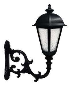 King LED Straßenbeleuchtung mit Arm - Aluminium für E27