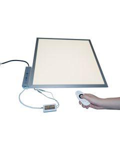Led Panel 60x60cm CCT-Farbsteuerung 36W einstellbar von K3000 - K6000 mit Fernbedienung
