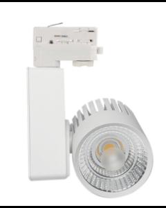 LED 3-Phasen Schienenlicht 40W GRaz Weiß Bridgelux Chip CRI +90